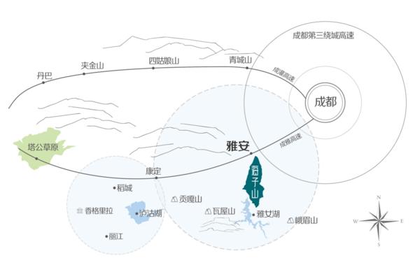海子山高山森林旅游,从成都出发只要2小时